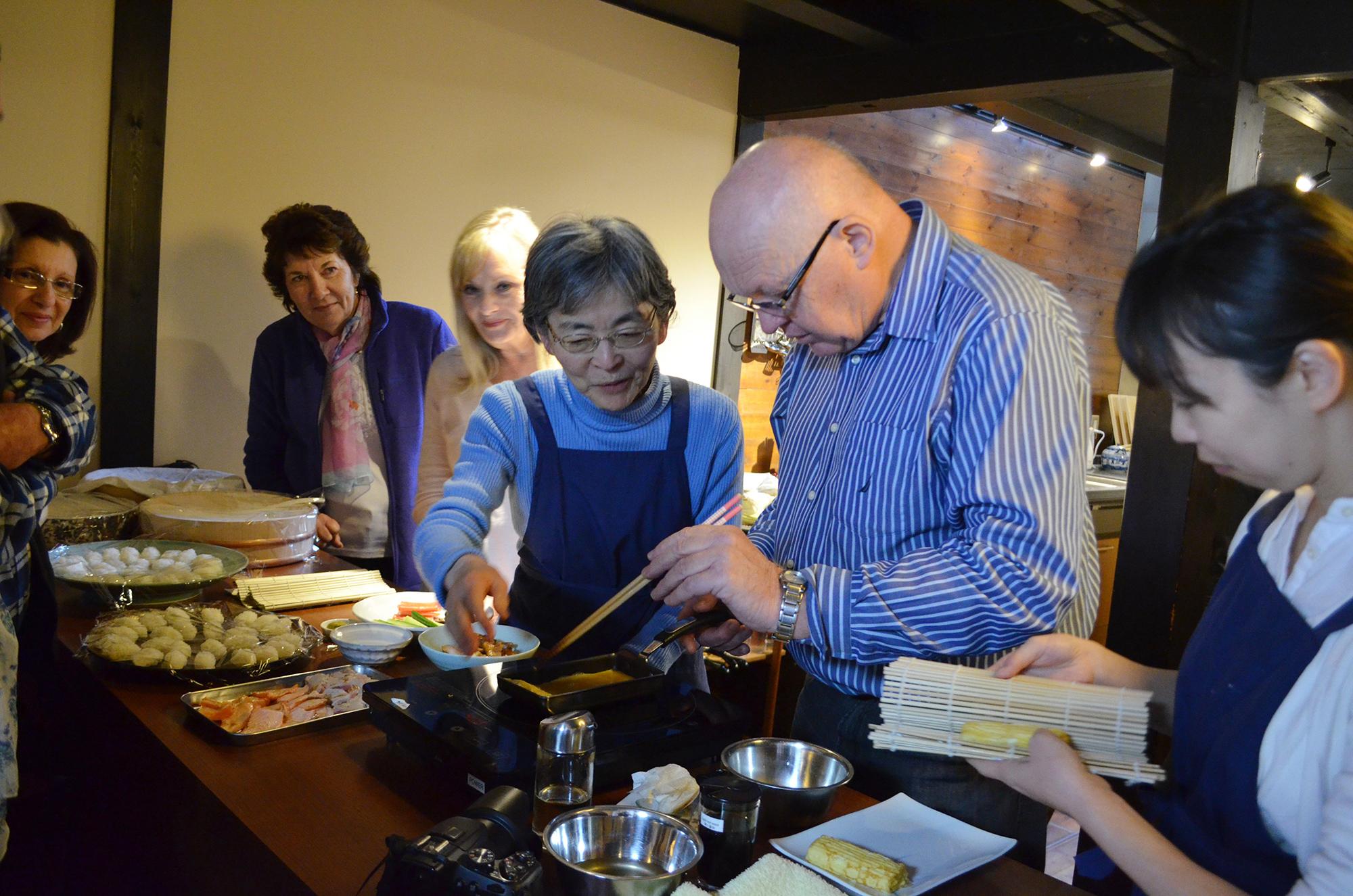 和食料理体験教室 / 京都の町家にて