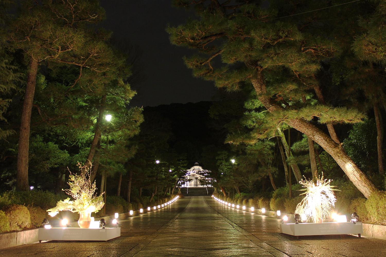 The Kyoto's Higashiyama Hanatoro illuminat...