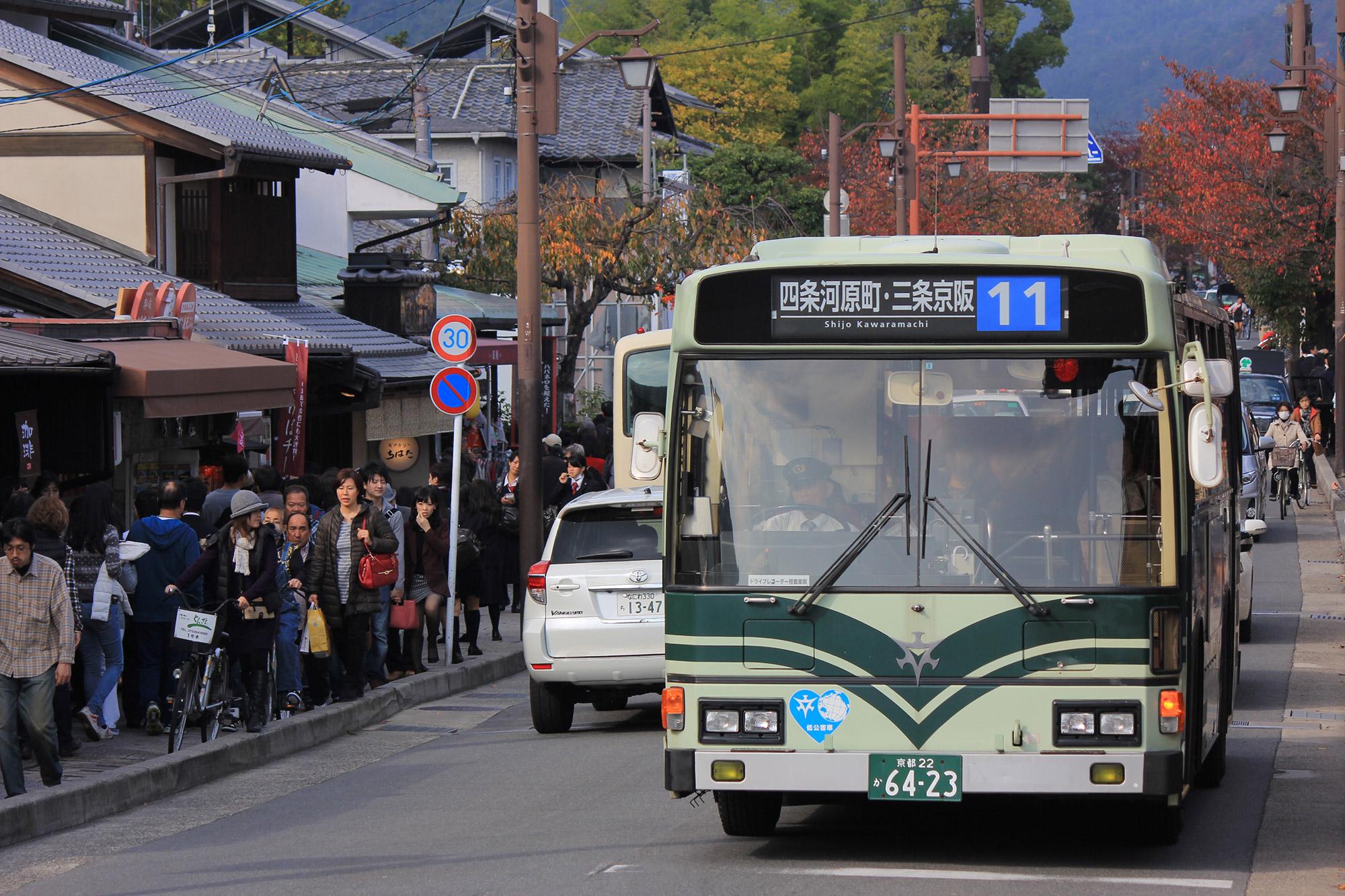 Public transportation in Kyoto