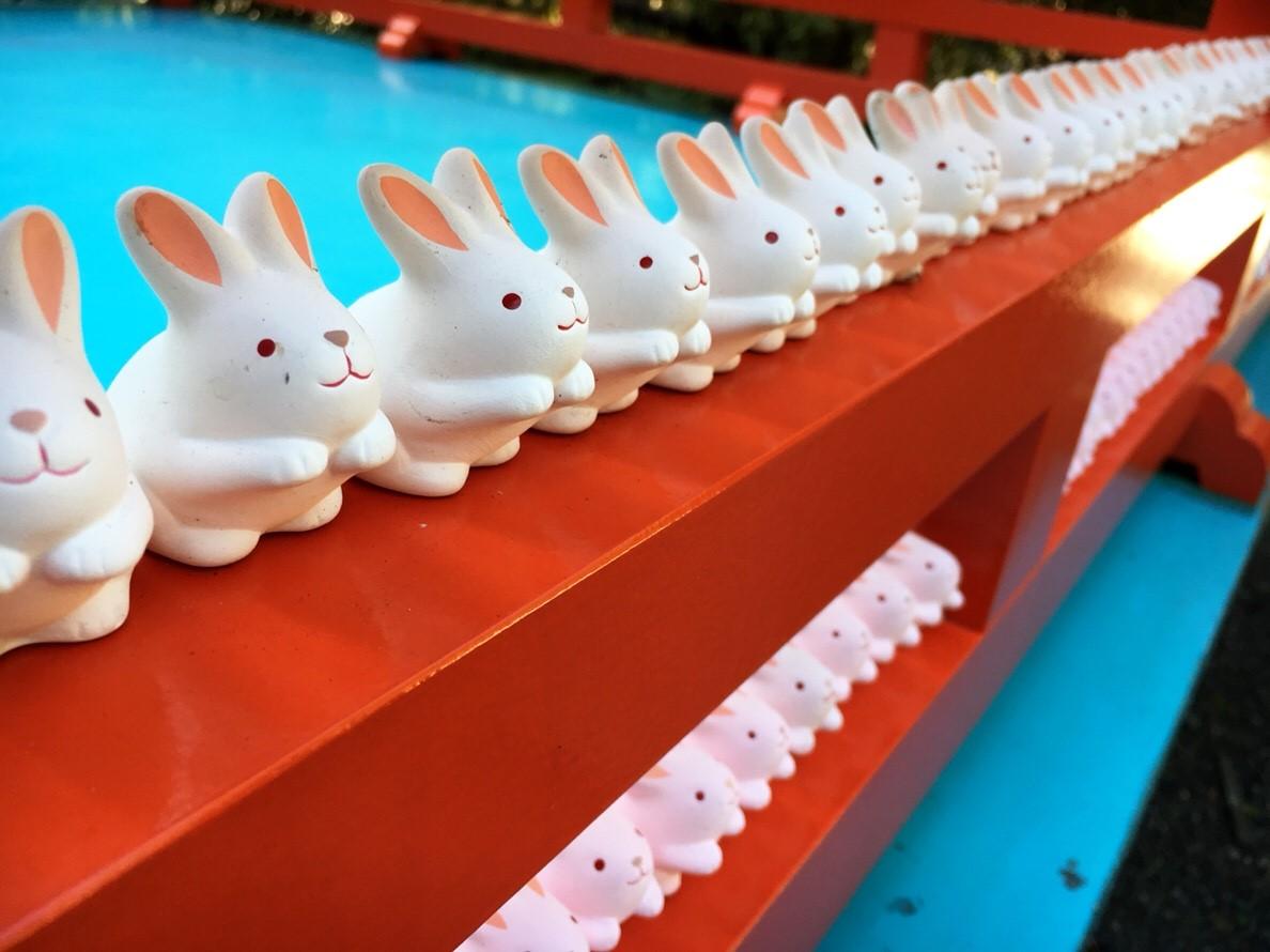 Rabbit Shrine /  Okazaki Shrine