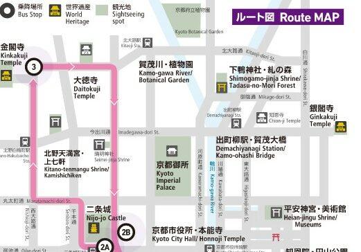 京都一日觀光巴士指南!