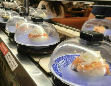 京都的回轉壽司第一集-百元回轉壽司之くら壽司