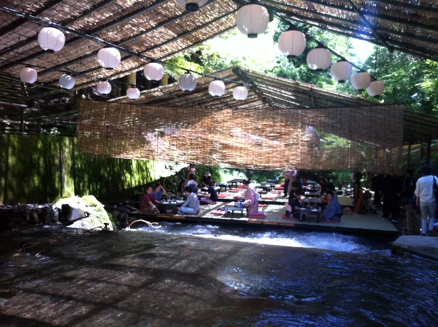About Kibune river restaurant!!Highly reco...