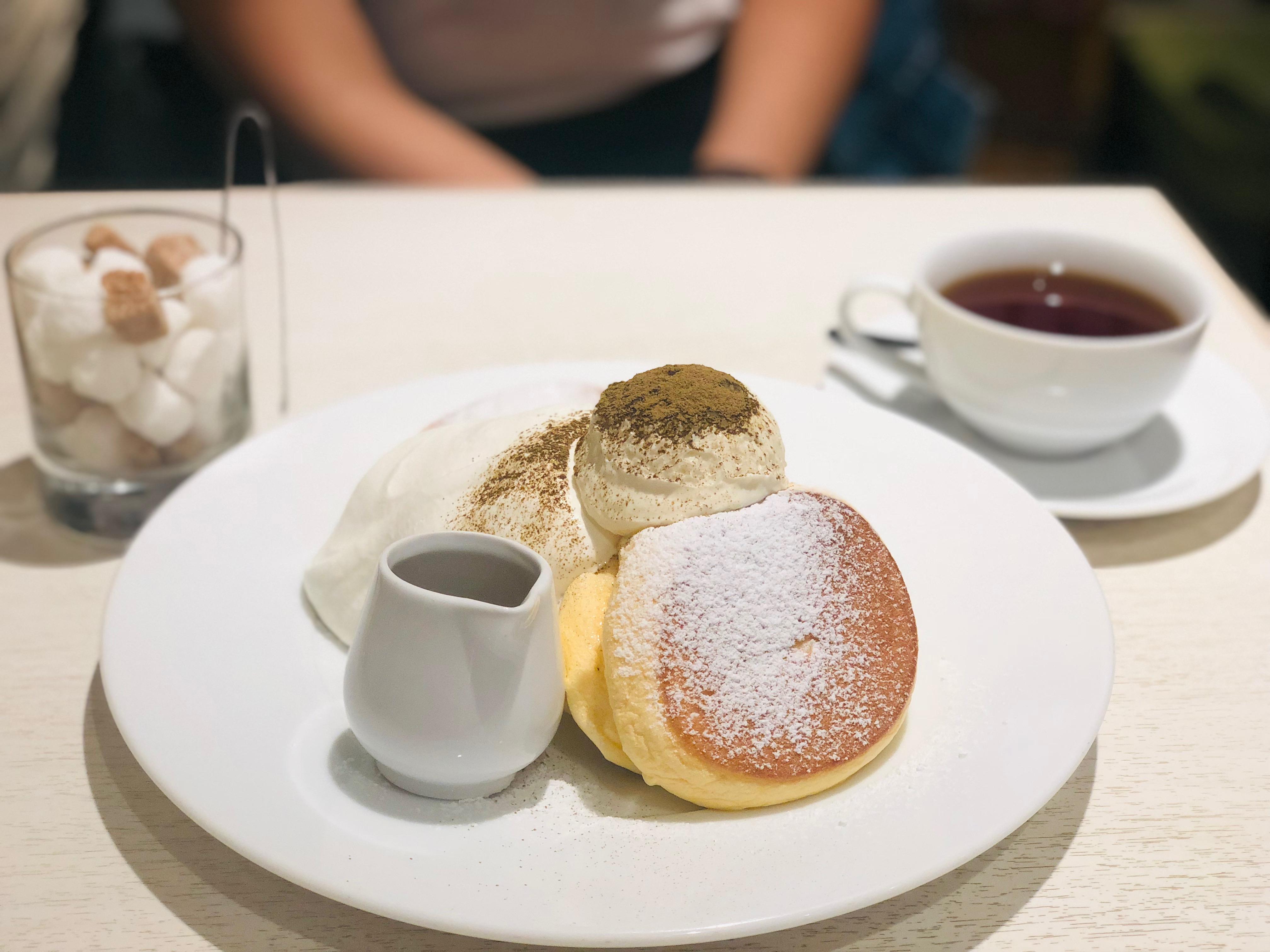 日本人氣鬆餅幸せのパンケーキ在京都也吃的到呦