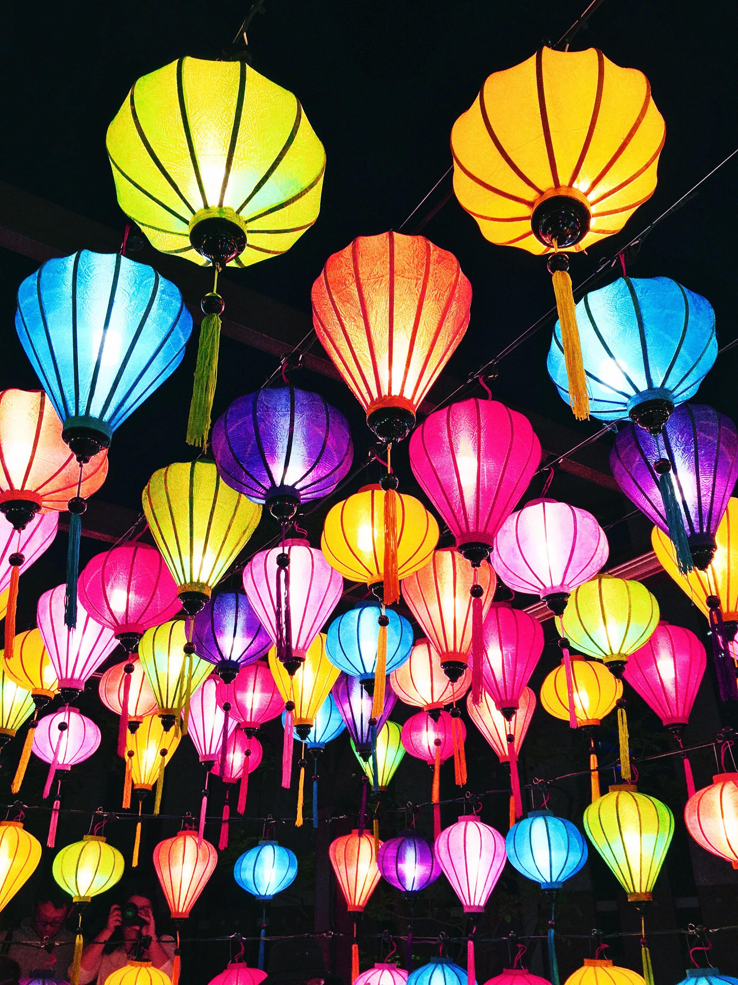 Китайские фонарики в Йокогаме