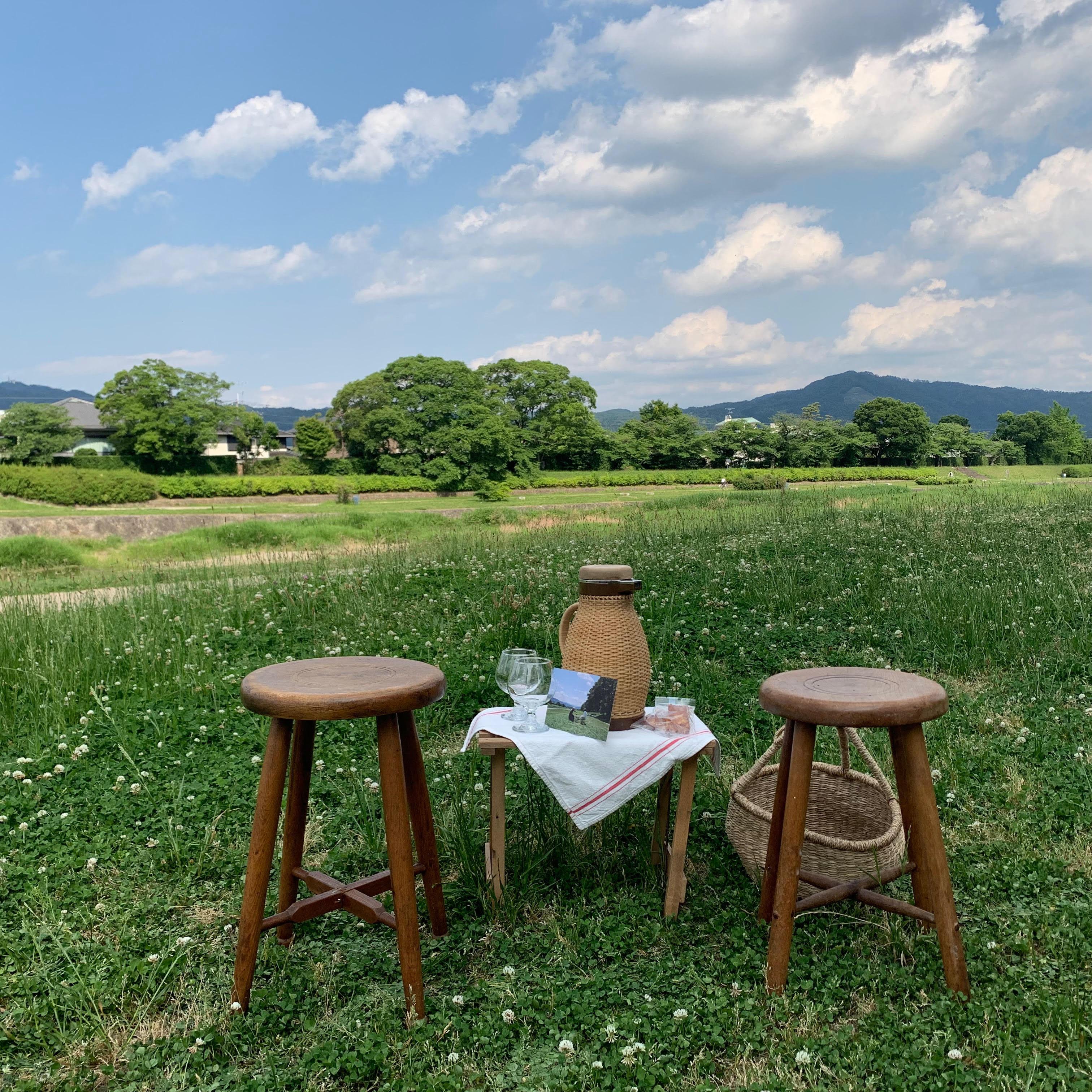 跟著我們一起去京都野餐吧 Wife & Husband