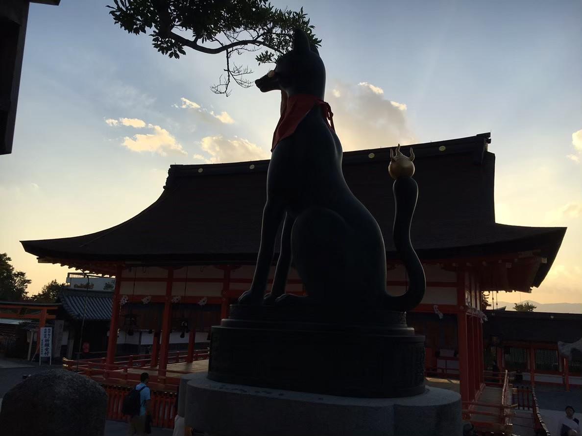 Fushimi Inari's fox