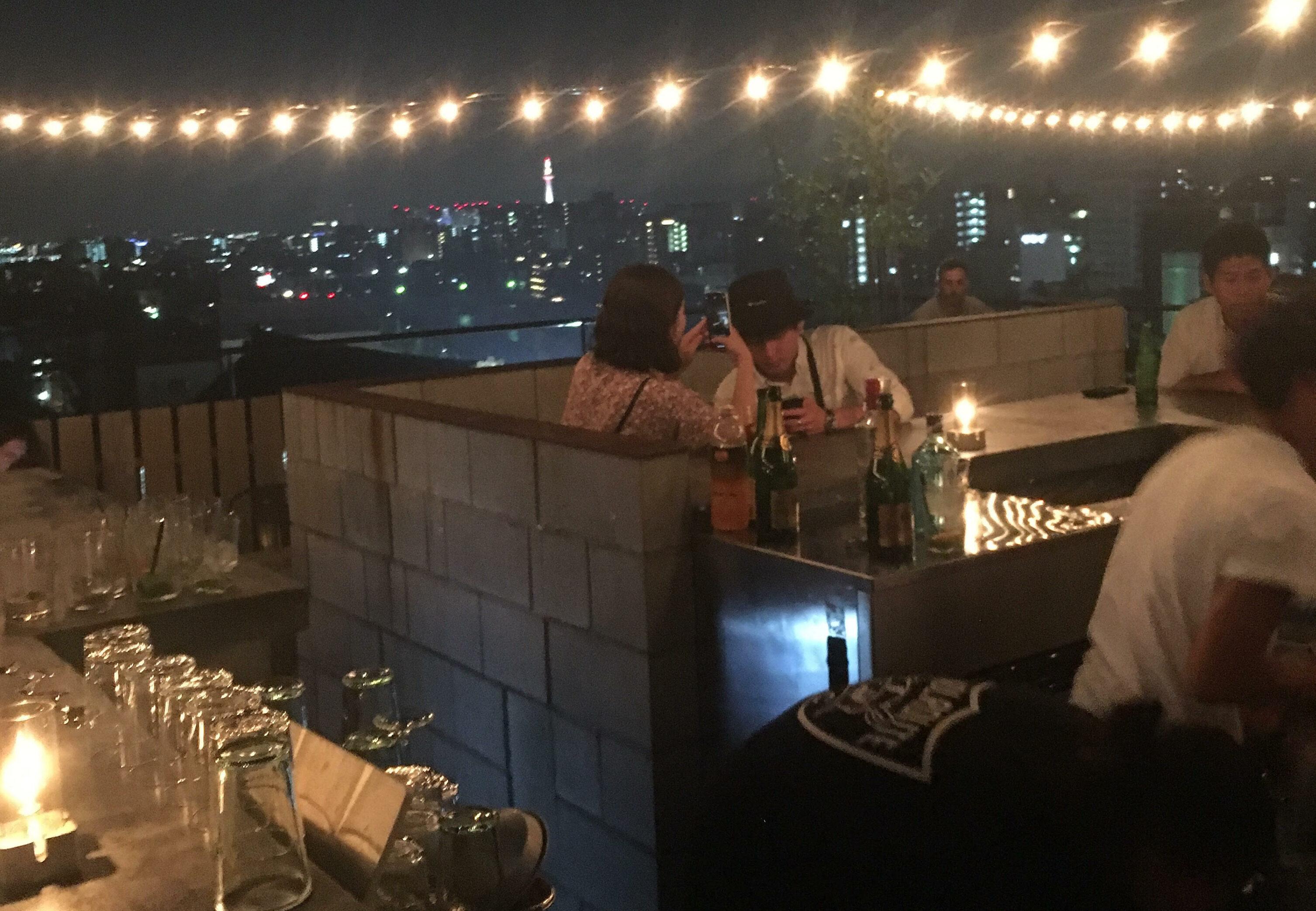 Best view bar beside kamo river♥