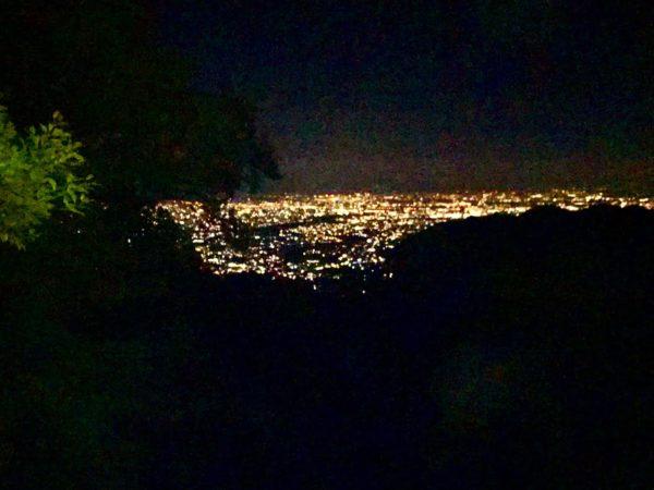 Kyoto's night view spot