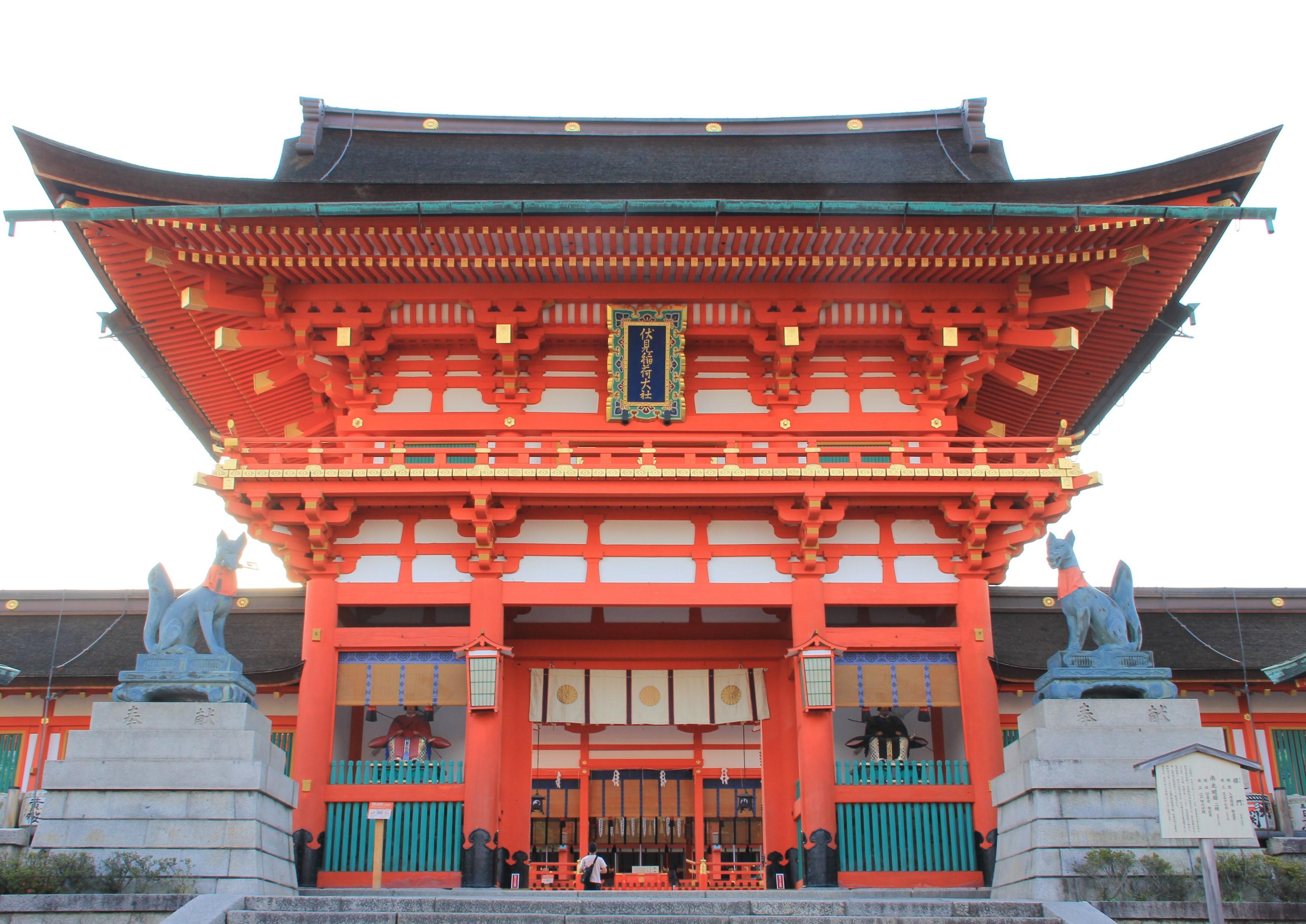 京都跨年--伏见稻荷大社的跨年活动