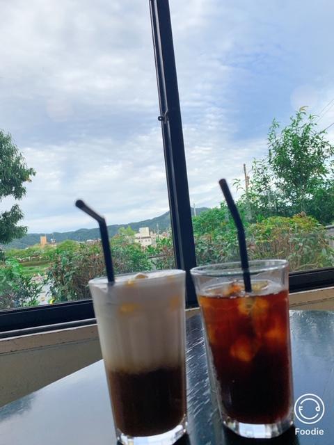 可以看到鴨川的咖啡廳~BON BON CAFE