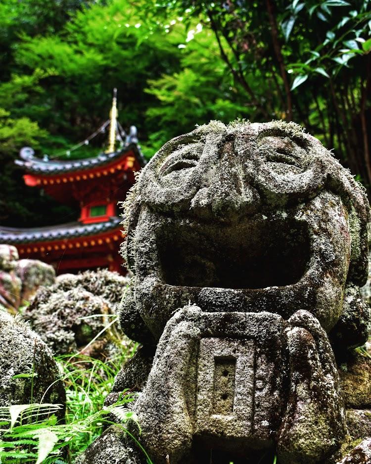 The Warm Temple -Otagi Nenbutsu-Ji Temple-