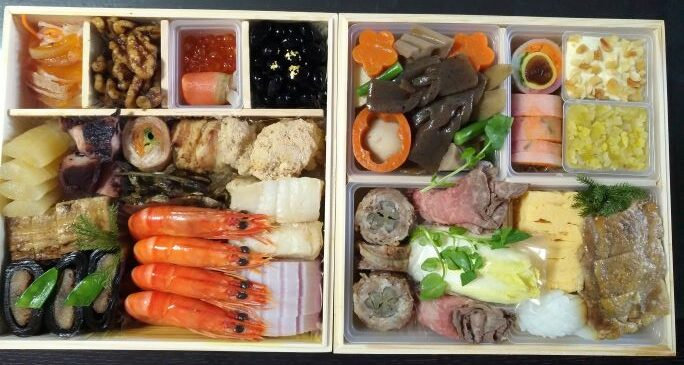 Japanese traditional New Year's dish