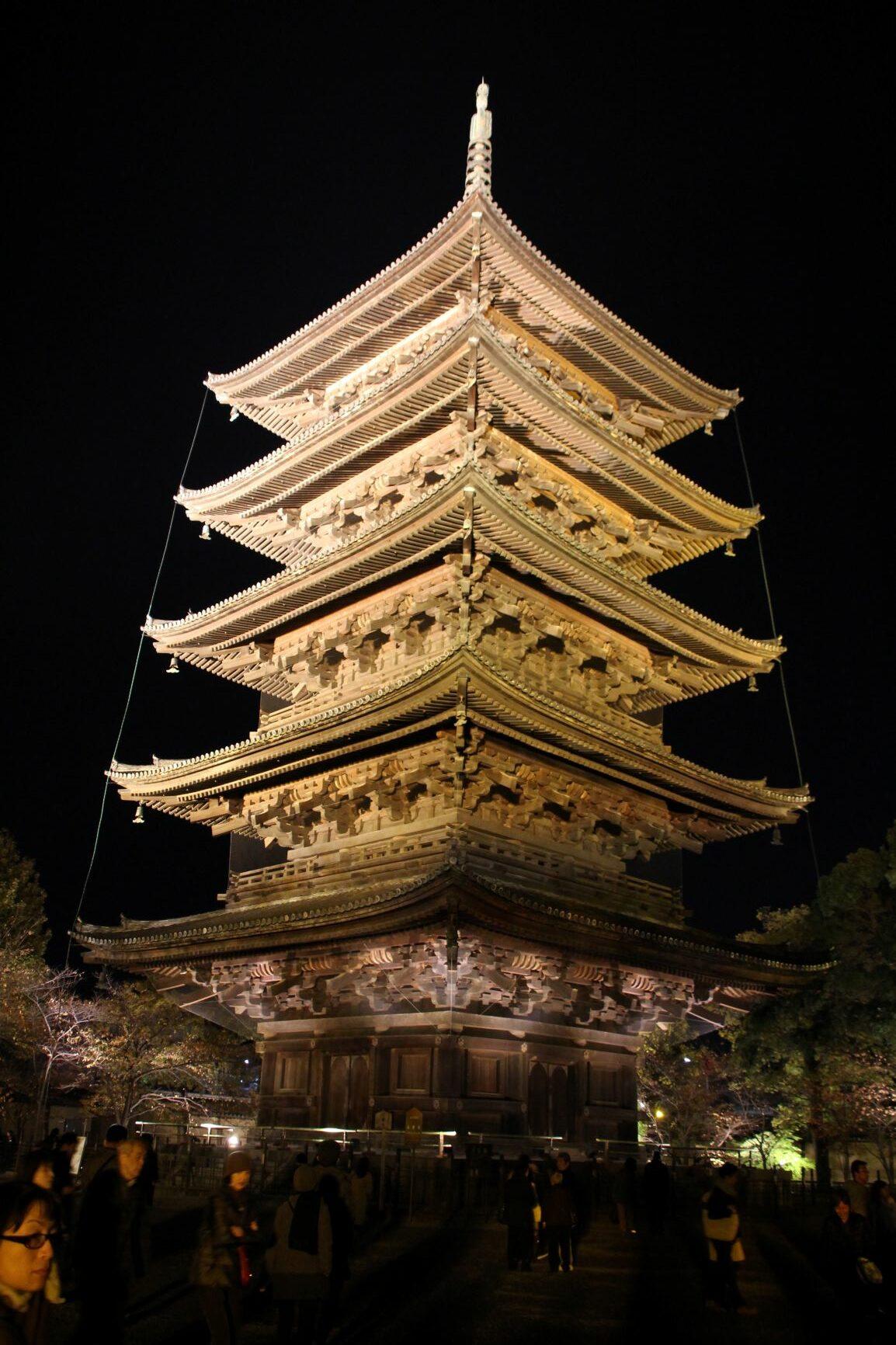 "The World Heritage Site ""Toji-temple"