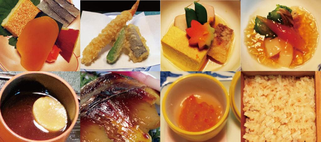 京料理 鶴清のお料理